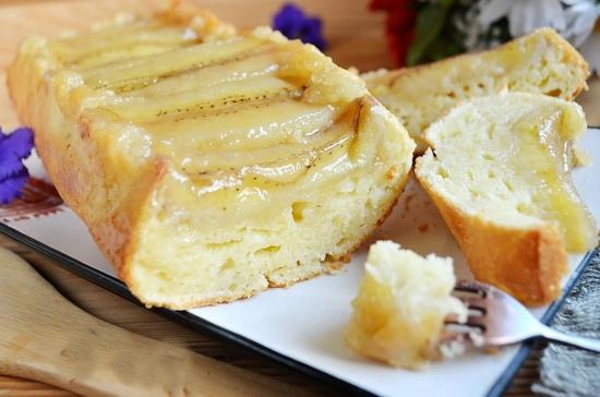 Банановый пирог в духовке