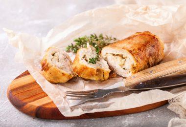 Как вкусно приготовить рулет из курицы?