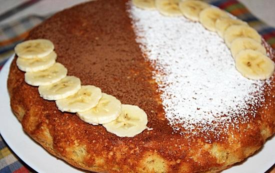 Банановый кекс в духовке: рецепт