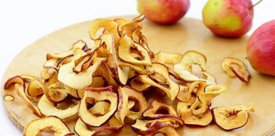 Как сушить яблоки в духовке