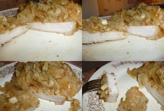 Антрекот из свинины в духовке: рецепт