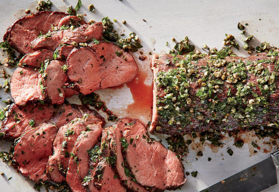 Как запечь говядину куском в духовке?