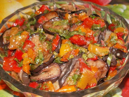 Баклажаны в духовке на зиму: рецепт