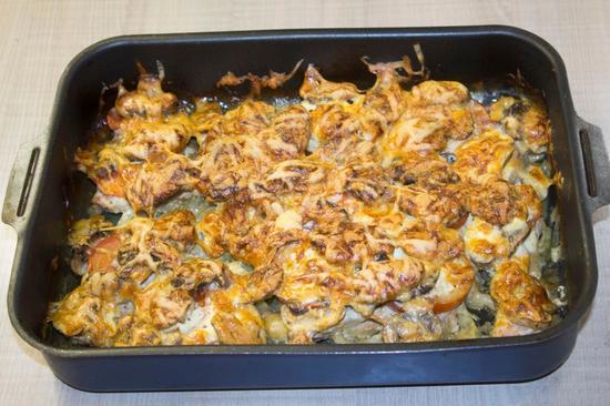 мясо в духовке: рецепт