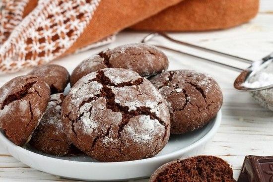 Печенье на кефире в духовке: рецепт