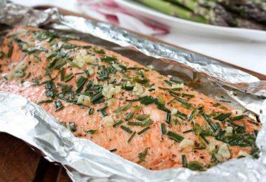 Как запечь горбушу в духовке, сохранив сочность рыбы?