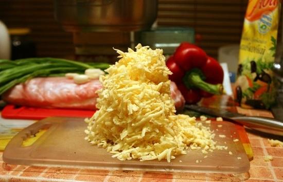 Потрите сыр