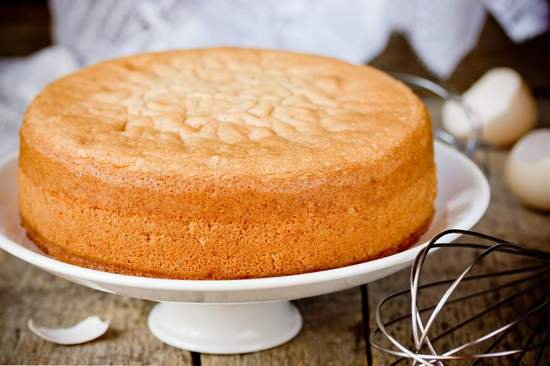 Бисквит: классический рецепт в духовке