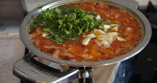 Баранина с овощами в духовке с картошкой