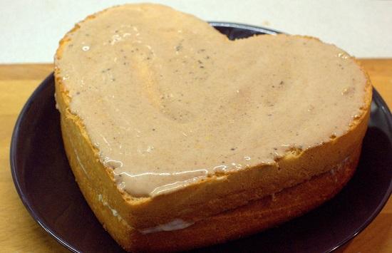 оставляем бисквит для пропитки