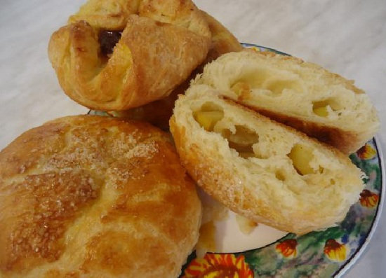 Рецепт булочек с сахаром в духовке