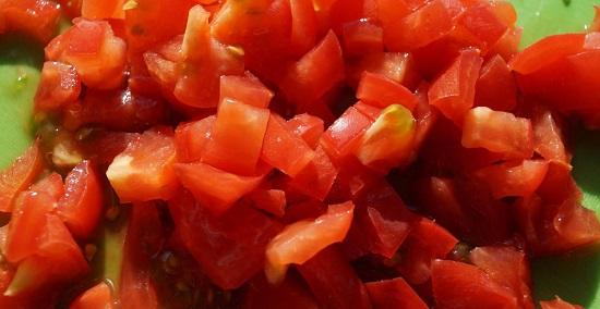 томаты бланшируют