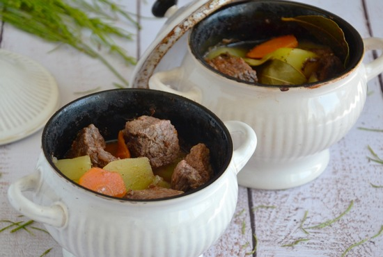 Как сделать вкусную говядину в горшочке?