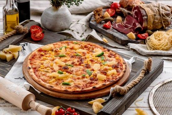 Пицца без дрожжей в духовке: рецепт