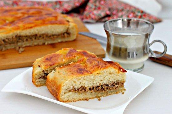 Мясной пирог в духовке: рецепт