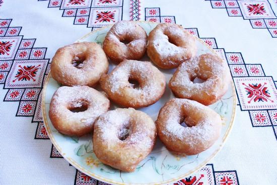 Классический пошаговый рецепт пончиков в духовке