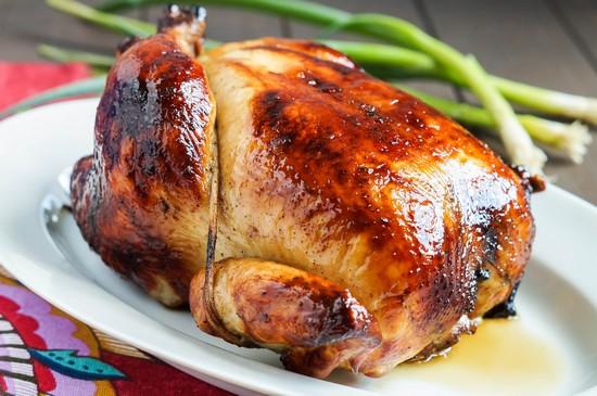 Румяная курица на соли в духовке: рецепт пошаговый