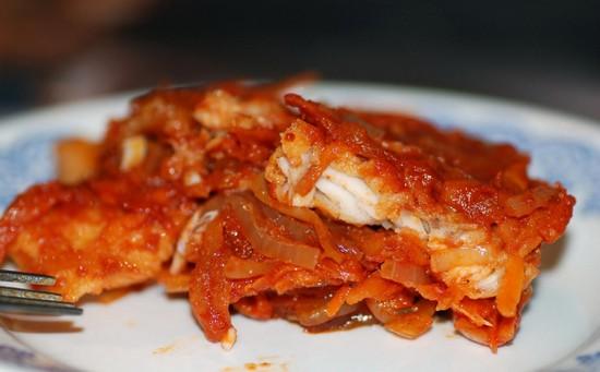 Рыба по-гречески в духовке: пошаговый рецепт