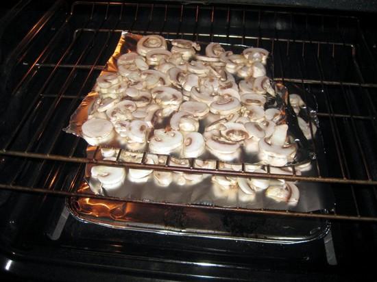 Как сушить грибы в духовке газовой плиты или электрической