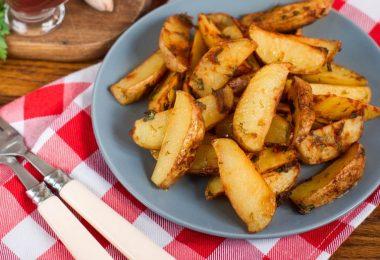 Картофель Айдахо в духовке