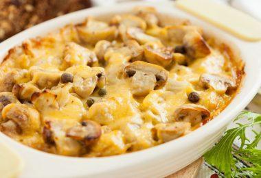 Как приготовить картошку с грибами в духовке правильно и вкусно