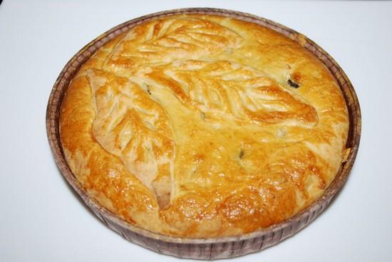 дрожжевой картофельный пирог в духовке