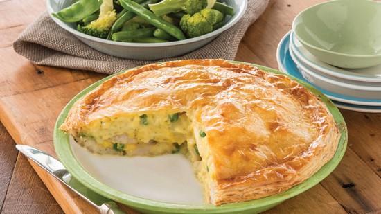Классический рецепт пирога с картошкой в духовке с пошаговым описанием