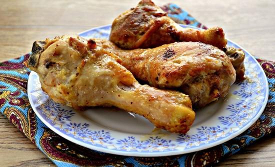 Курица в кефире в духовке: рецепт пошаговый