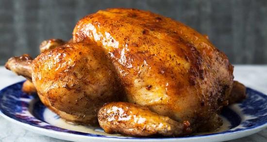 Куры на вертеле в духовке: рецепт пошаговый