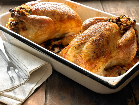 Курица с грибами в духовке: рецепт с пошаговым описанием