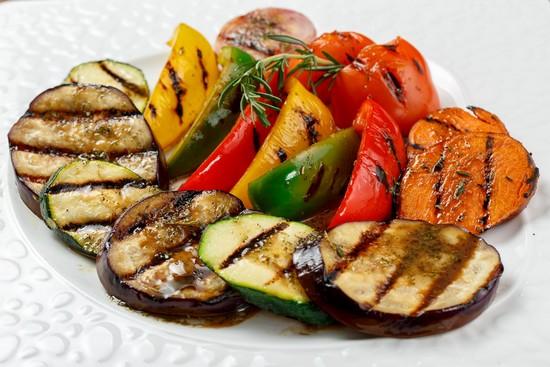 запечь овощи гриль в духовке