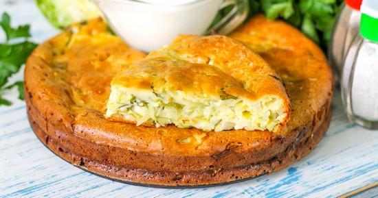 Несладкий сметанный пирог: рецепт простой в духовке