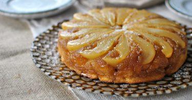 Пирог с грушами в духовке: пошаговый рецепт