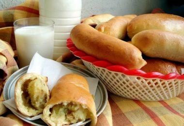 Пирожки с картошкой в духовке: пошаговый рецепт