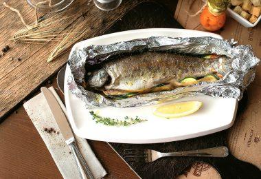Речная рыба в духовке: рецепт