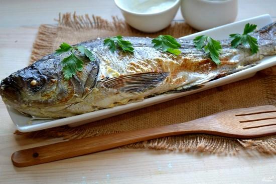 как готовится речная рыба в духовке