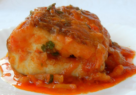 Запеченная рыба в духовке с морковью и луком: рецепт пошаговый