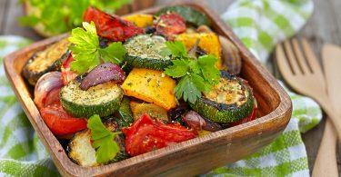 Лучшие рецепты салатов из запеченных овощей