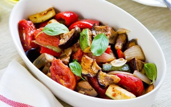 Армянский салат из запеченных овощей в духовке: рецепт пошаговый