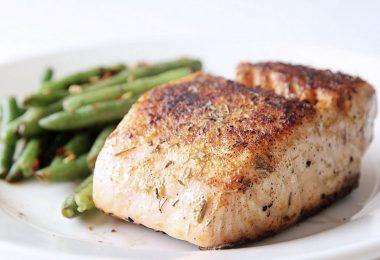 Семга в духовке: рецепты (в сливочном соусе)