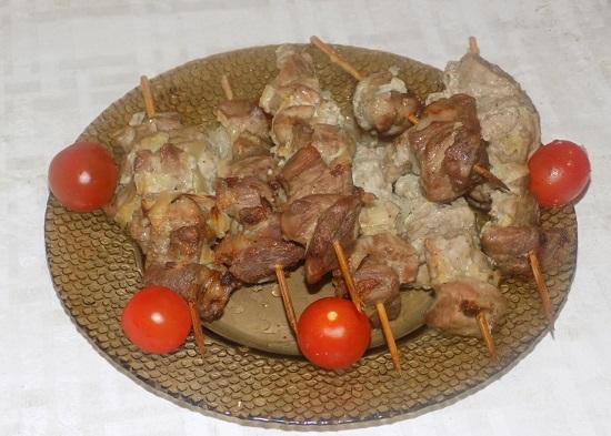 Рецепт шашлыка в духовке