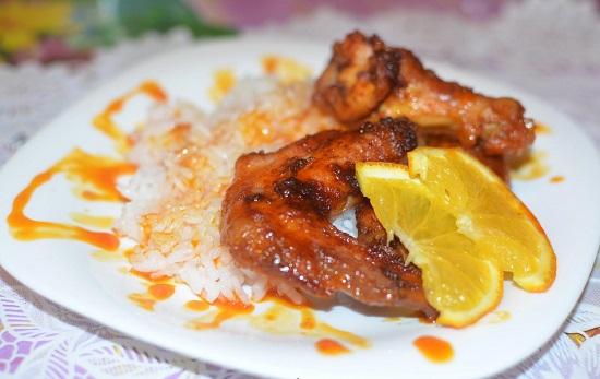Крылышки в соевом соусе в духовке: рецепт
