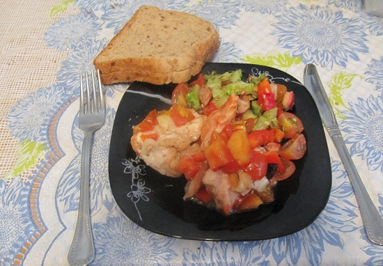 Запеченные овощи с мясом в духовке: рецепт