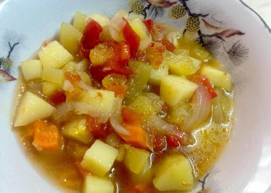 Овощное рагу в духовке: рецепт