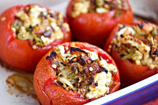 Чем и как фаршировать томаты