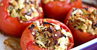 Фаршированные помидоры в духовке: рецепт