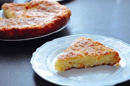 Простой сырный пирог в духовке на сметане: рецепт пошаговый
