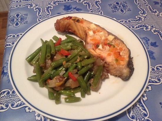 Толстолобик в духовке в фольге с овощами: рецепт пошаговый