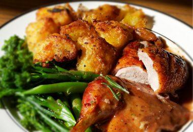 Утка с картошкой в духовке: рецепт
