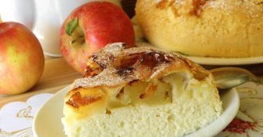 Яблочная шарлотка в духовке: рецепт классический